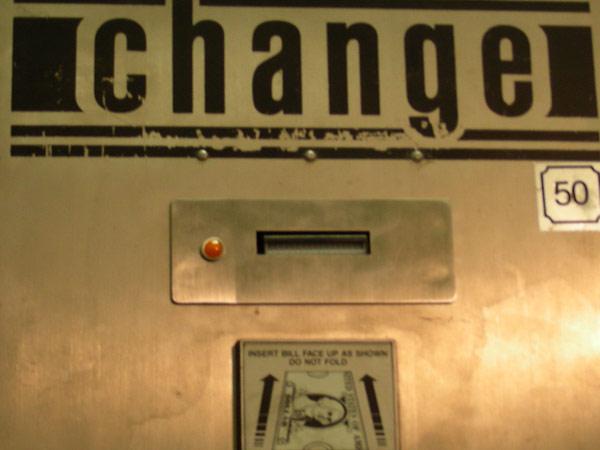 Standard Bill Changer Acceptor