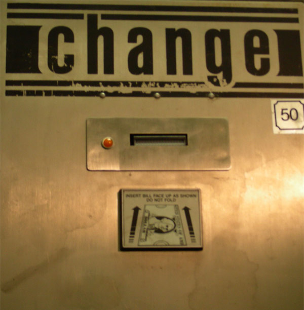 Genesis upgrade kit for Standard SC series bill change machines